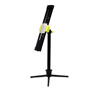 Agilux 425 Lumen Portable LED Work Light With 12-33in Mini Stand – 12in Black