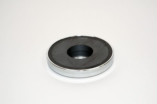 3in Ceramic Chrome plated Magnet